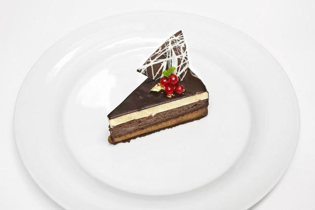 Ресторан «Francesco», Санкт-Петербург: Шоколадный торт.