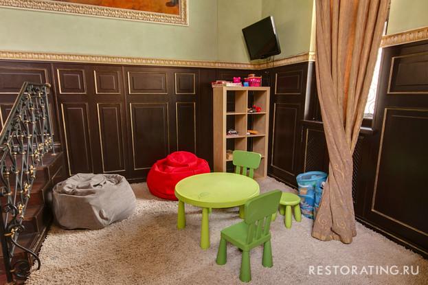 ресторан «Метрополь», Санкт-Петербург: Детский уголок.