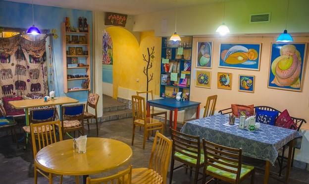 кафе «Ауровилль», Санкт-Петербург