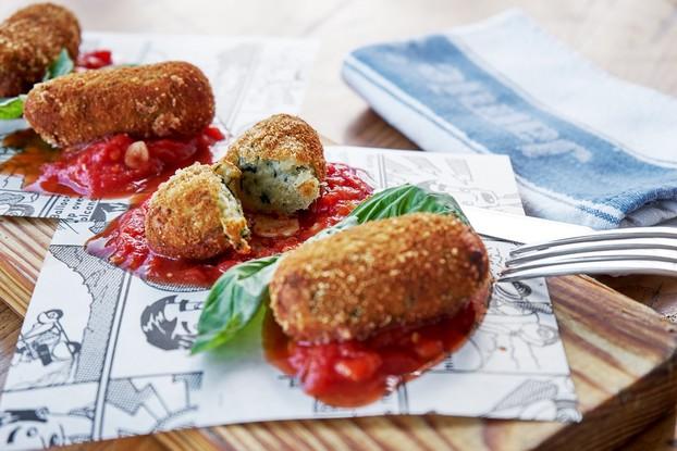 Ресторан «Jamie's Italian», Санкт-Петербург: Картофельные крокеты