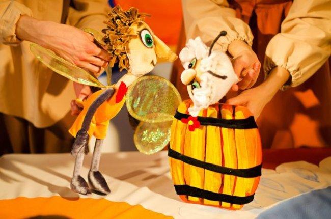 Птичий двор: Кукольный театр