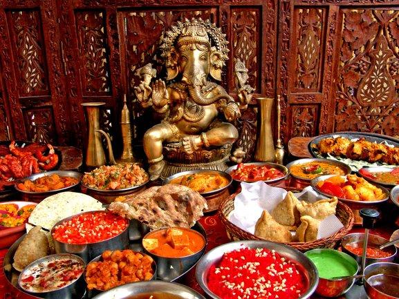 Mindal Cafe: Неделя индийской кухни