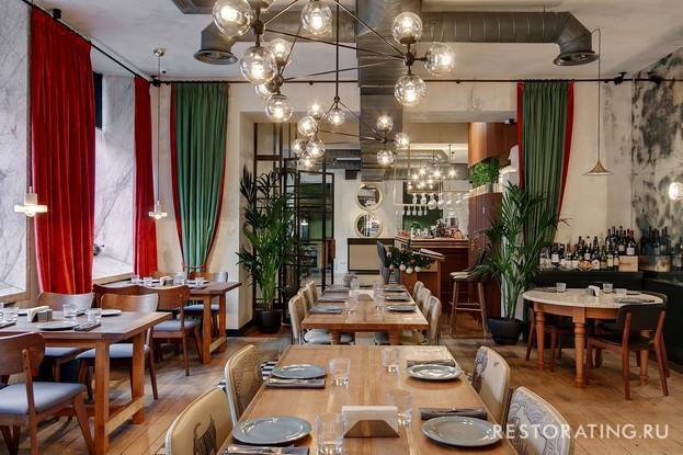 ресторан «Godji», Санкт-Петербург