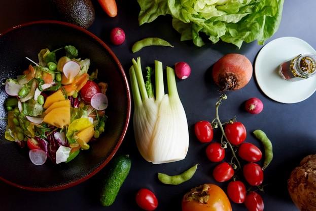 Ресторан «Белка», Санкт-Петербург: Салат из 11 овощей