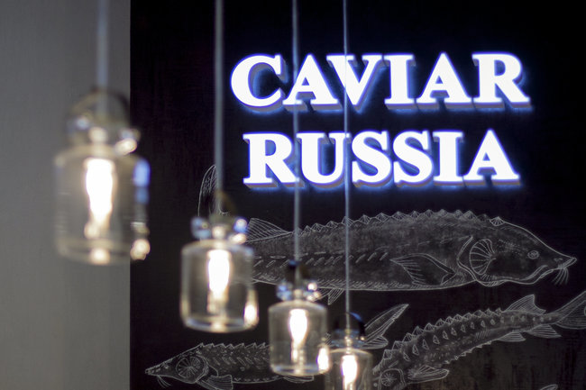 Икорный бар Caviar Russia: Ужин с Сержем Фери