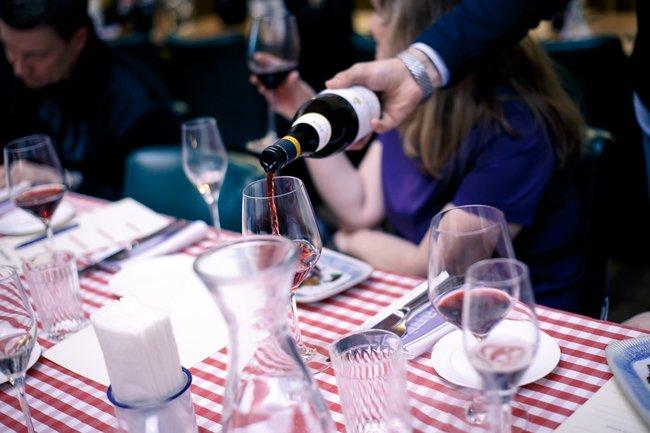 Jamie's Italian: Пиво, вино, шампанское