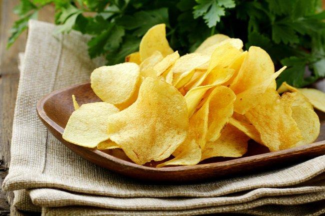 Schwaben Keller: Натуральные чипсы из картофеля