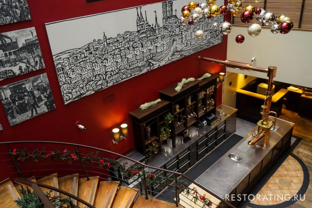 ресторан «Paulaner Nevsky Prospekt», Санкт-Петербург