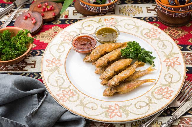 Mindal Cafe: Черноморская барабулька