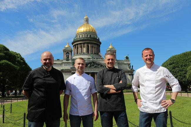 Stroganoff Bar & Grill: Юбилей и четыре шефа