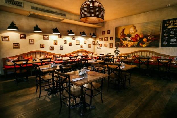 ресторан «Мамаlыgа», Санкт-Петербург