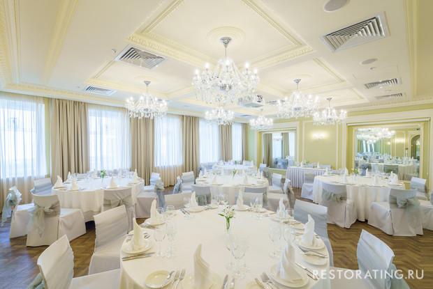ресторан «Вино и вода», Санкт-Петербург: Банкетный зал «Серенада»