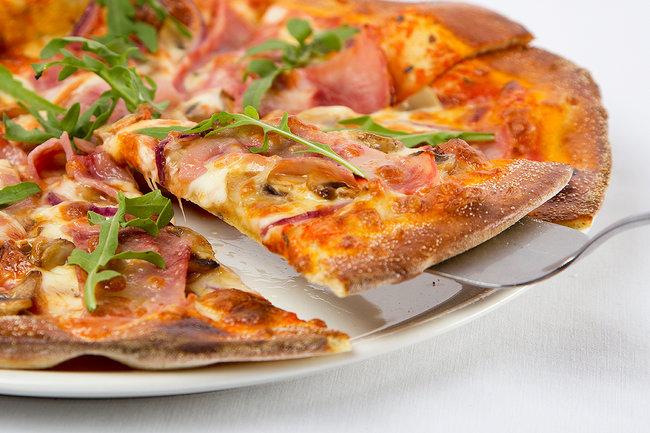 Biscotto Cafe: Пицца в подарок