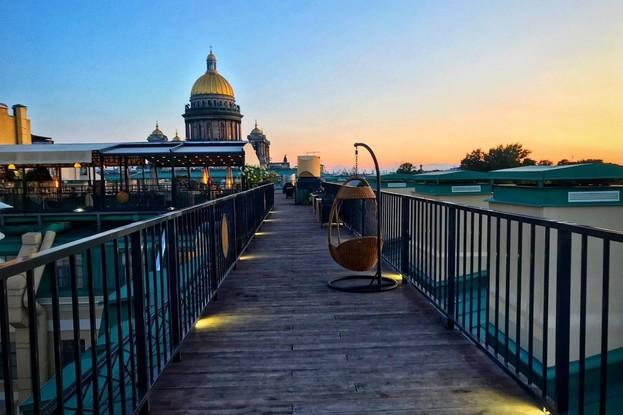 ресторан «Крыша», Санкт-Петербург